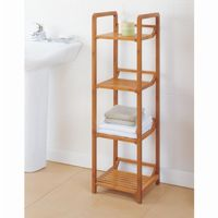 Organize it All Lohas Bathroom 4 Tier Tower 29954