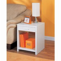 Organize it All Side Table White 39412