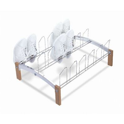 Organize it All 9 Pair Shoe Rack 17305