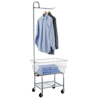Organize it All Chrome Laundry Center 17167