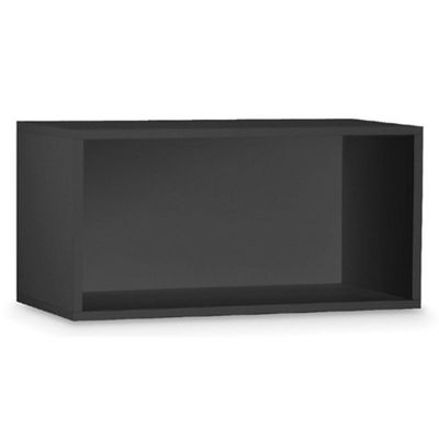 Organize it All Double Storage Cube Black 84613