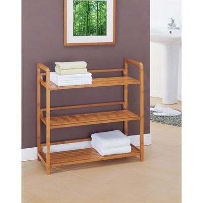 Organize it All Lohas Bathroom 3 Tier Shelf 29943