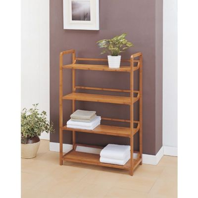 Organize it All Lohas Bathroom 4 Tier Shelf 29944