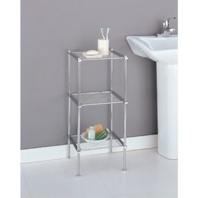 Organize it All Metro Bathroom 3 Tier Shelf 16983