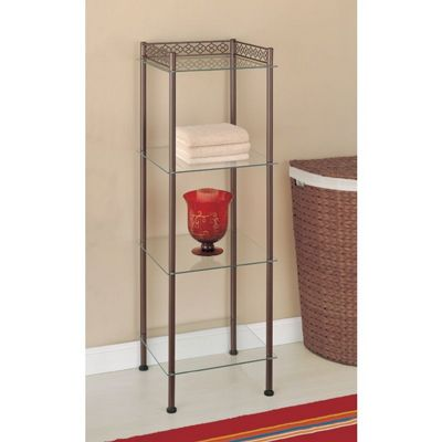 Organize it All Morocco Bathroom 4 Tier Tower 63404