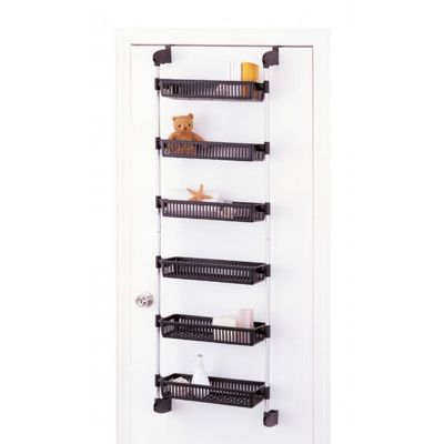 Organize it All Over the Door 6 Plastic Basket Unit 17716