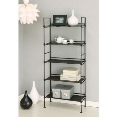 Organize it All Resin 5 Tier Shelf Espresso 97205