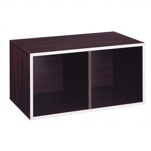 Organize it All 2 Section Double Storage Cube 30921