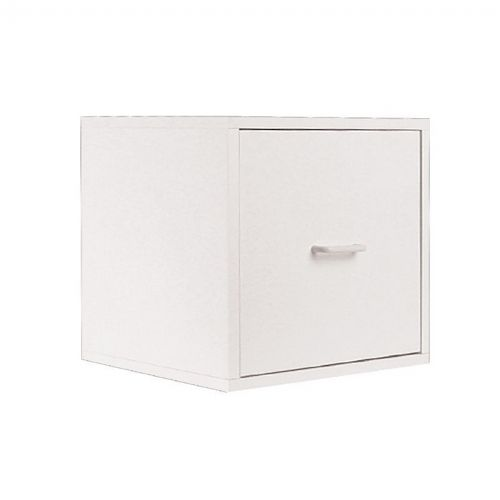Organize it All Storage Single Drawer Cube White 84517