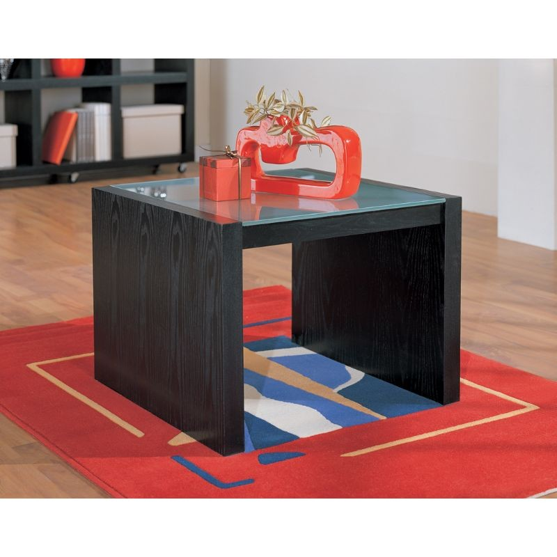 Organize It All Coffee Table With Glass Top