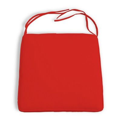 Outdoor Chair Seat Cushion Trapezoid 18FW x 16BW x 16D x 3H Sunbrella Welted CD-CCT18X16X16X3