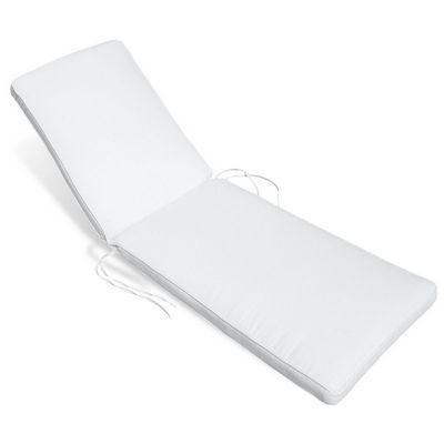 Sunbrella outdoor chaise cushion 23w x 77l x 2h stripes cd for Chaise cushions sunbrella