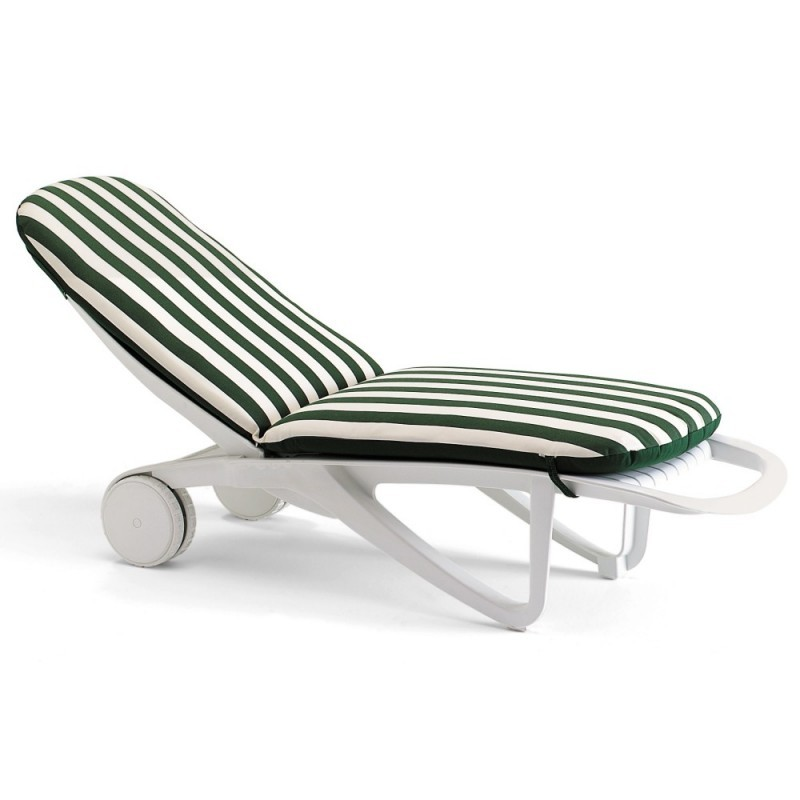 Cormoran Chaise Cushion Stripes
