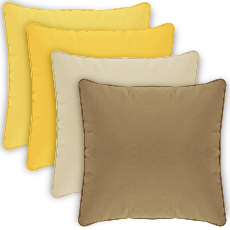Square Outdoor Pillow 15x15 Solids alternative photo #3