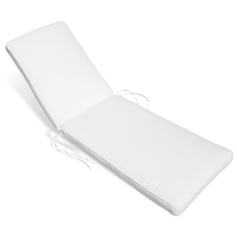 Sunbrella outdoor chaise cushion 23w 77l 3h stripes for 23 w outdoor cushion for chaise