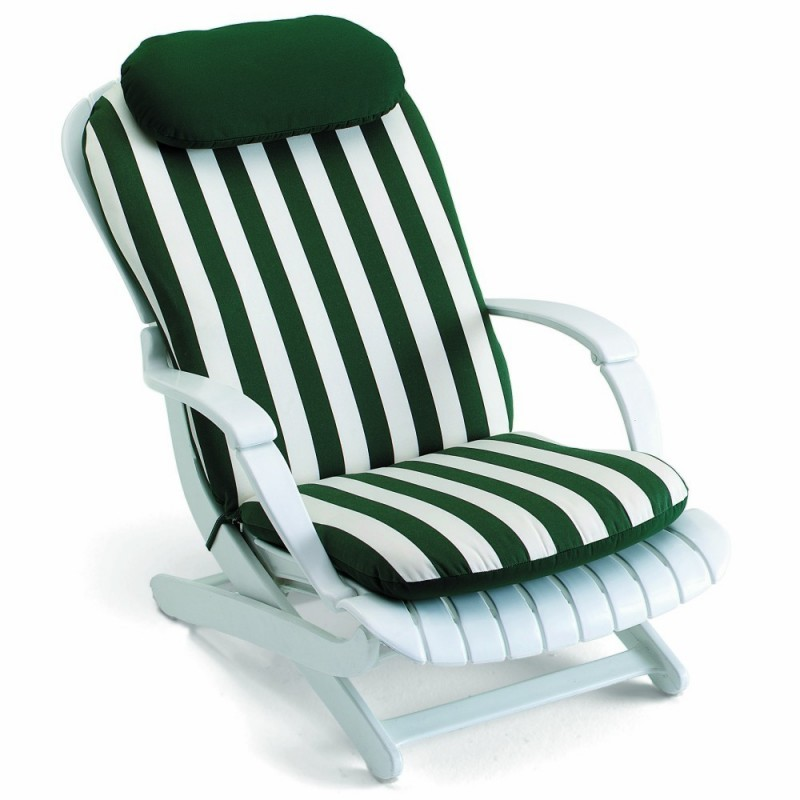 Tangor Chair Cushion Stripes