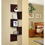 4D Concepts Hanging Corner Storage - Cherry 4DC-99600