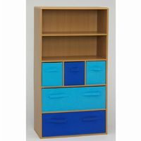 4D Concepts Beech Boys Storage Bookcase 4DC-12355