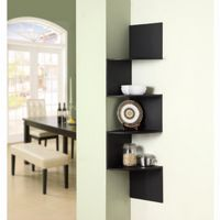 4D Concepts Hanging Corner Storage - Black 4DC-99900