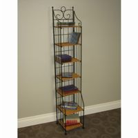 4D Concepts Multimedia Stand - Wicker / Metal 4DC-263012