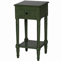 4D Concepts Simplicity End Table - Green 4DC-570315