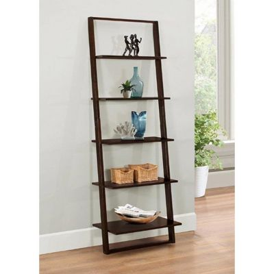 4D Concepts Arlington Wall Bookcase - Dark Cappuccino 4DC-89835