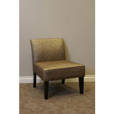 4D Concepts Belinda Accent Chair - Metallic Woven Linen 4DC-773511