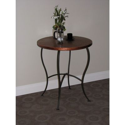 4D Concepts Hammered Metal Round Table - Metal 4DC-55974