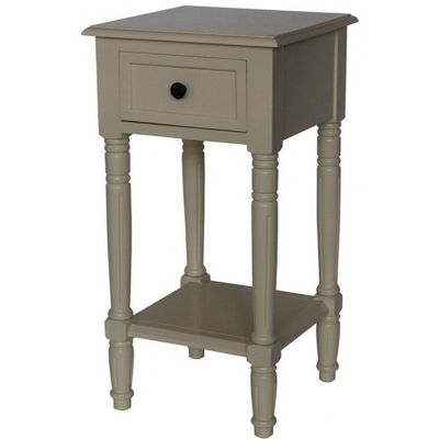 4D Concepts Simplicity End Table - Buttermilk 4DC-570415
