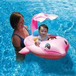 Pink Dolphin Baby Pool Float PM81559