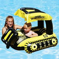Bulldozer Infant Pool Float PM81552