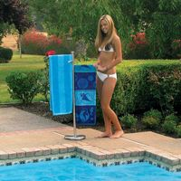 Stainless Steel Poolside Towel Tree PM52504