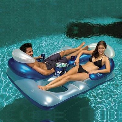 Inflatable Polar Bar™ Double Lounger PM85695