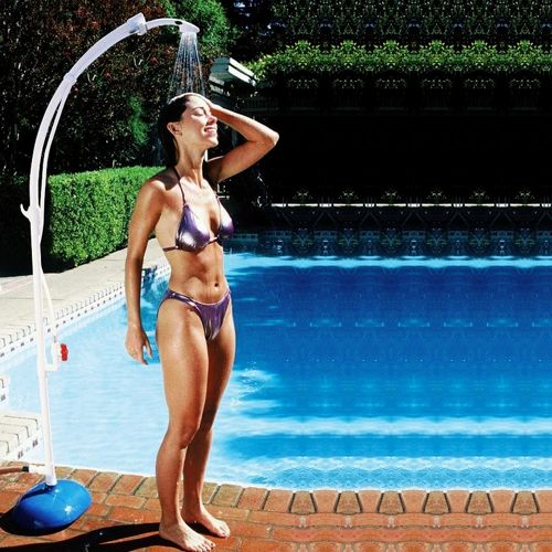 Poolside Portable Shower PM52508-WHITE