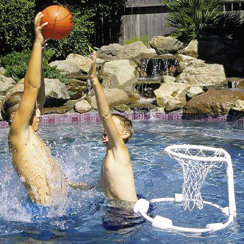 Kids Pool Games: All Pro Floating Basketball Game with Ball