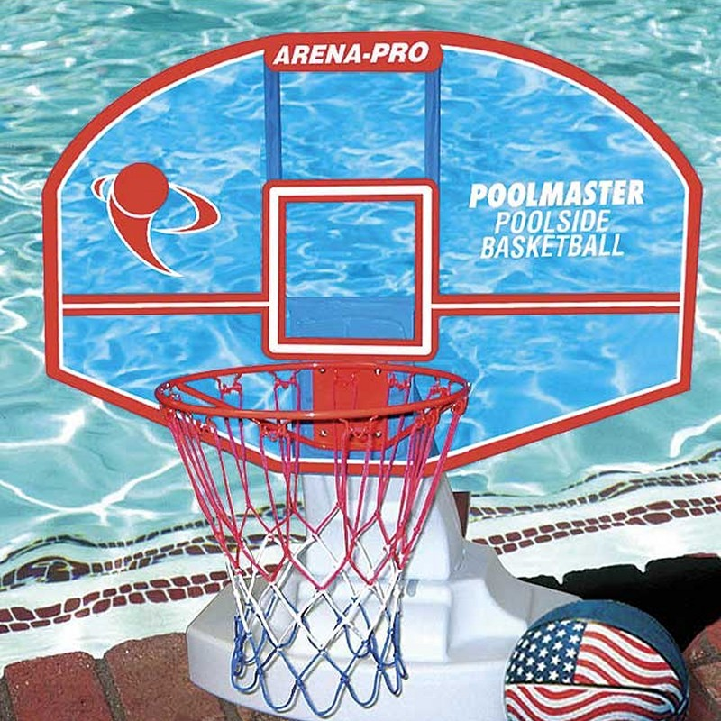 Pool & Beach: Pool Toys & Games: Arena-Pro Poolside Basketball Game