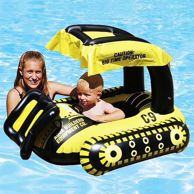 Easy Spring Pool Float with Canopy - Swimming Pools - Pool