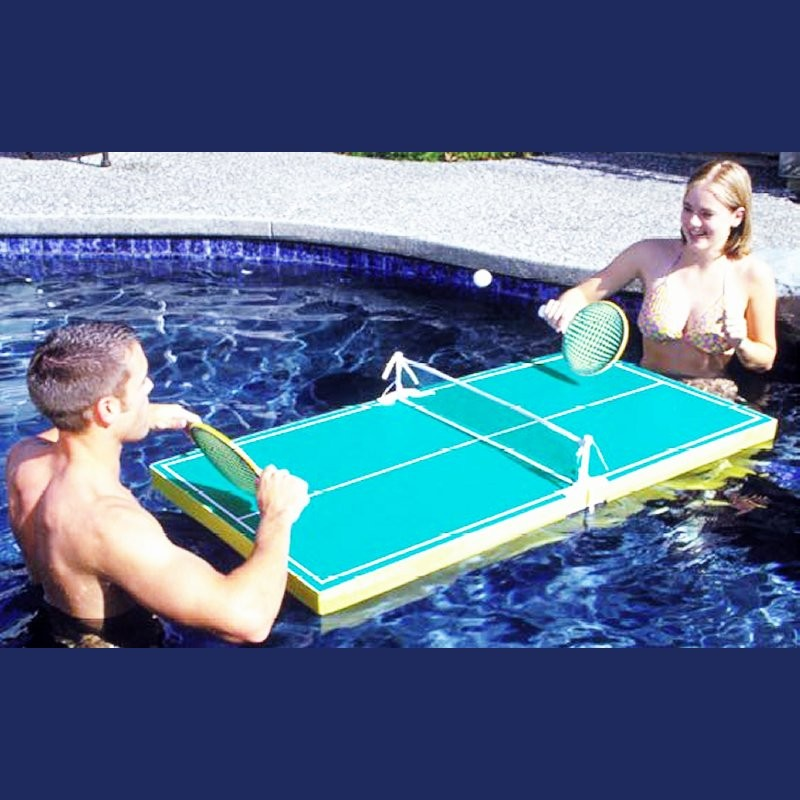 Mechanical or Toy Alligator for Swimming Pool: Pool Ping Pong Tennis Game