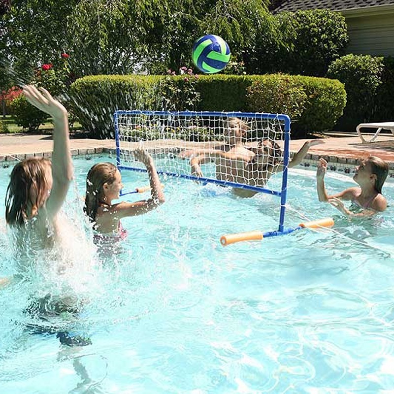 Mechanical or Toy Alligator for Swimming Pool: Pool Water Volleyball Game