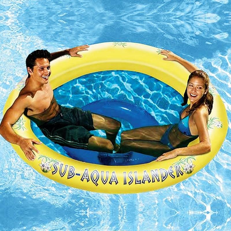 Inflatable Floating Island Spa