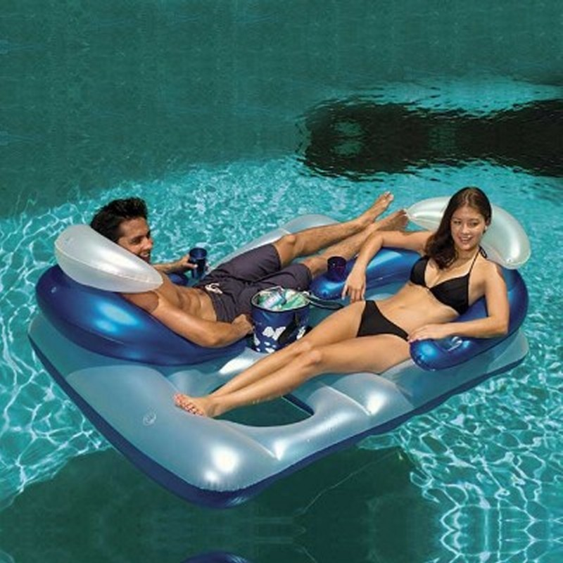 Inflatable Polar Bar™ Double Lounger