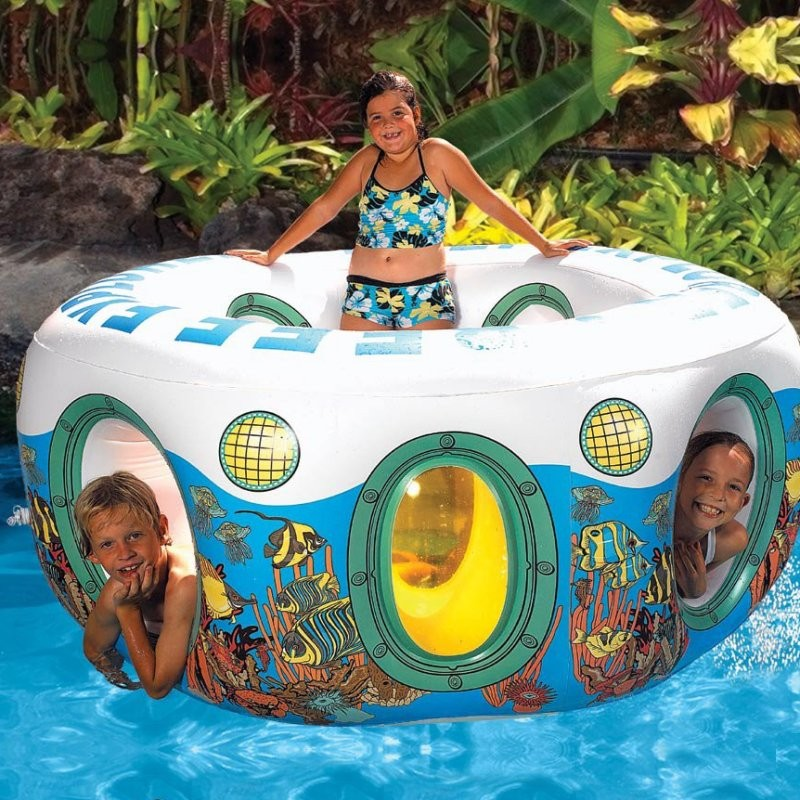 Children 39 S Reef Inflatable Pool Float Pm86145