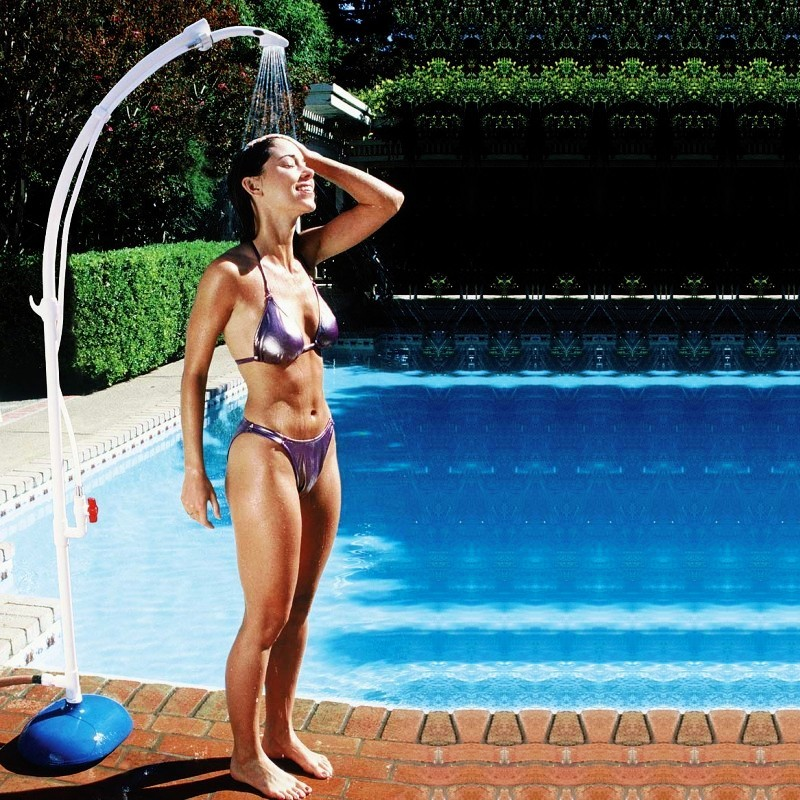 Pool and Spa Accessories: Portable Poolside Shower