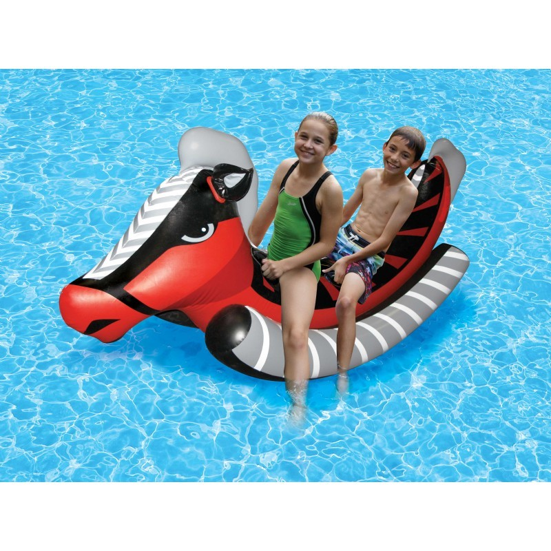 Child Size Pool Float: Inflatable Water Horse Rider Float