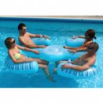 Paradise Lounge Inflatable Pool Float