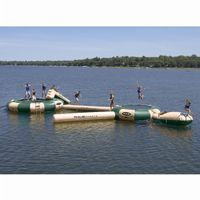 Aqua Jump Eclipse200 Northwood's Water Trampoline with 19 feet Diameter RS00203