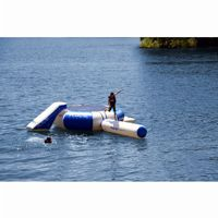 Splash Zone Plus Water Bouncer 12 Ft. with Slide, Log, and Platform RS02010
