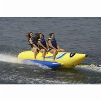 Waterboggan 3 Three Rider Towable Banana Tube RS03300