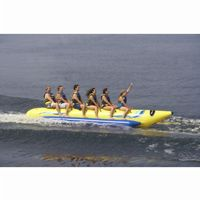 Waterboggan 6 Six Rider Towable Banana Tube RS03600
