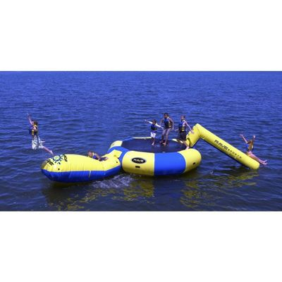 Bongo 15 Ft. Bouncer Water Park with Slide and Launch RS02103